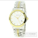 Authentic GUCCI G Design Watch stainless steel Stainless SteelxGold Plated  Men