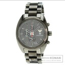 Authentic Emporio Armani Stripe Watch stainless steel SS  Men