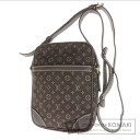 Authentic LOUIS VUITTON  Danube M95228 Shoulder bag Monogram mini orchid