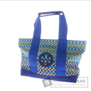 Authentic Tory Burch  18129569 with logo Tote bag Canvas Rubber