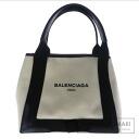 Authentic BALENCIAGA  with logo Handbag Canvas