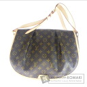 Authentic LOUIS VUITTON  Menilmontant MM M40473 Shoulder bag Monogram canvas