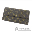 LOUIS VUITTON wallet & Sarah M61734 old type wallets (purses and) Monogram Canvas ladies
