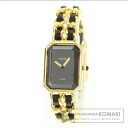 CHANEL premiere M watch GP / Leather Womens