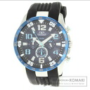 TECHNOS T6338 SS / rubber mens watches