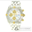 BREITLINGB13356 chronometbicoro diamonds watch SS men