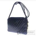 CHANEL Coco make shoulder bag Leather Womens