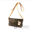 Authentic LOUIS VUITTON  Torota M51241 panda Shoulder bag Monogram canvas