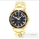 Authentic OMEGA Seamaster Watch 18K pink gold K18PG  Men