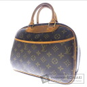 Authentic LOUIS VUITTON  Trouville M42228 Handbag Monogram canvas