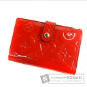 Authentic LOUIS VUITTON  Portefeiulle Vu~ienowa M93528 (With coin purse) bi-fold wallet Vernis