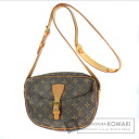 Authentic LOUIS VUITTON  Jeune Fille M51226 Shoulder bag Monogram canvas