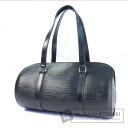 Authentic LOUIS VUITTON  Soufflot M52862 Handbag Epi Leather