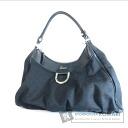 Authentic GUCCI  GGpattern Shoulder bag Canvas x Leather