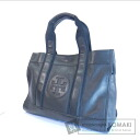 Authentic Tory Burch  with logo Tote bag Leather