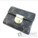 Authentic LOUIS VUITTON  Portefeiulle Koala M58013 (With coin purse) bi-fold wallet Monogram canvas