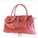 Authentic ANNA SUI  Heart punching Shoulder bag Synthetic leather
