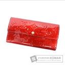 Authentic LOUIS VUITTON  Portefeiulle Sarah M93530 (With coin purse) Purse Vernis