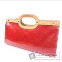 Authentic LOUIS VUITTON  Rokusubari drive M91987 Handbag Vernis
