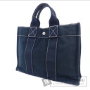 Authentic HERMES  Deauville PM Tote bag Canvas