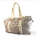 Authentic Aquascutum  with logo check pattern Shoulder bag Nylon