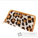 Authentic MIUMIU  Leopard (With coin purse) Purse Harako
