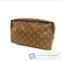Authentic LOUIS VUITTON  True strike Cracking ~Tsu To 27 M47522 Cosmetics Pouch Monogram canvas