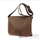 Authentic LOUIS VUITTON  Brooklyn MM N51211 Shoulder bag Damier Canvas