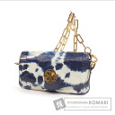 Tory Burch tie dye print shoulder bag Leather Womens