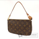 Authentic LOUIS VUITTON  Pochette Accessoires M51980 Accessory pouch Monogram canvas