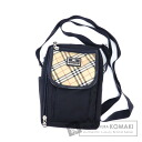 Authentic BURBERRY  Black Label Nova Check Shoulder bag Nylon
