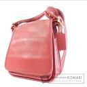Authentic COACH  Solid color Shoulder bag Leather