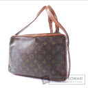 Authentic LOUIS VUITTON  Old Marly band Villiers Shoulder bag Monogram canvas