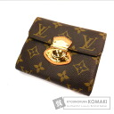 Authentic LOUIS VUITTON  Porutofoiyu Joy M60211 (With coin purse) bi-fold wallet Monogram canvas