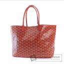 Authentic GOYARD  Saint-Louis PM herringbone Tote bag PVC
