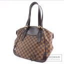 Authentic LOUIS VUITTON  Verona MM N41118 Shoulder bag Damier Canvas