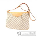 Authentic LOUIS VUITTON  Siracusa PM N41113 Shoulder bag Damier Canvas