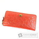Authentic COACH  Signature stamping (With coin purse) Purse Enamel