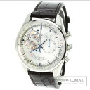 Authentic ZENITH Erupurimero Chronomaster Watch stainless steel Alligator  Men