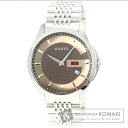 Authentic GUCCI  Watch stainless steel   Men