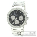 Authentic BVLGARI BB38Stainless SteelCH Watch stainless steel   Men