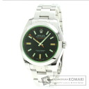Authentic ROLEX Milgauss Watch stainless steel   Men