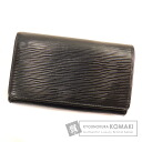 Authentic LOUIS VUITTON   (With coin purse) bi-fold wallet Epi Leather