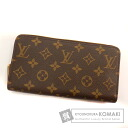 Authentic LOUIS VUITTON  Zippy wallet M60017 (With coin purse) Purse Monogram canvas