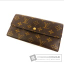 Authentic LOUIS VUITTON  Portefeiulle · Sarah M61734 old (With coin purse) Purse Monogram canvas
