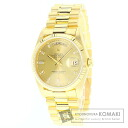 Authentic ROLEX Day Date Watch 18K yellow gold 18K yellow gold  Men