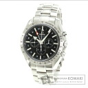 Authentic OMEGA Speedmaster Broad Arrow Co-Axial Watch SS   Men
