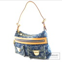 Authentic LOUIS VUITTON  Buggy PM M95049 Shoulder bag Monogram Denim canvas