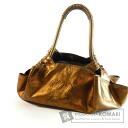 Authentic LOEWE  Nappaaire with logo engraved Shoulder bag Leather