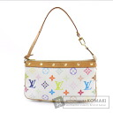 Authentic LOUIS VUITTON  Pochette Accessoires M92649 Accessory pouch Monogram Multicolore canvas